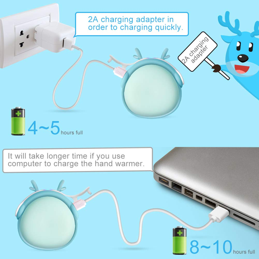 RioRand Hand Warmers,Portable Best Hand Warmer Gift for Men Women Kids