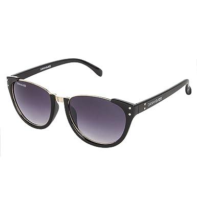 b9f610c3f91 Image Unavailable. Image not available for. Colour  Danny Daze UV Protected  Wayfarer Women Sunglasses ...
