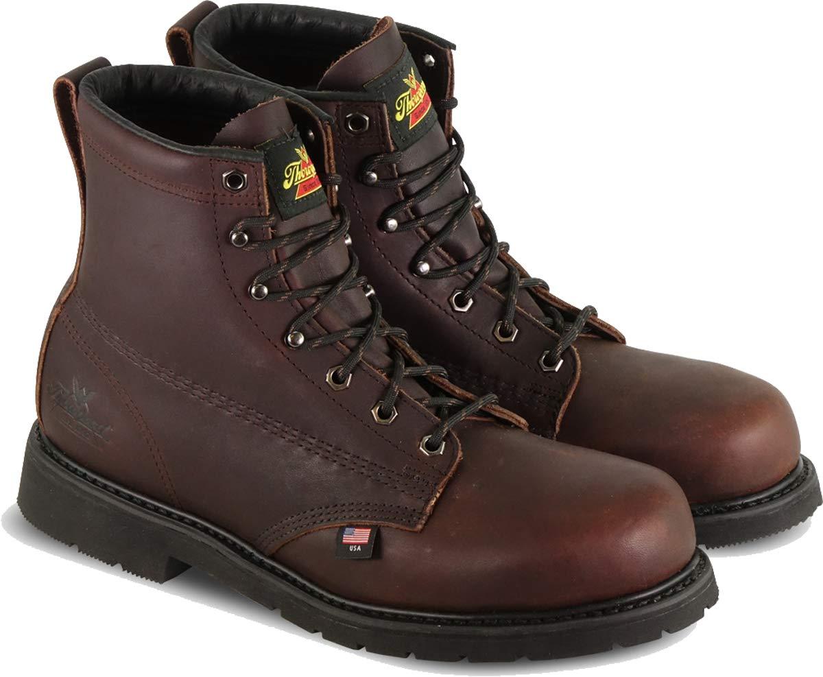 000d7c5a1b5 Thorogood 804-3406 Men's Oil Rigger 6 Safety Toe Boot, Black Walnut ...