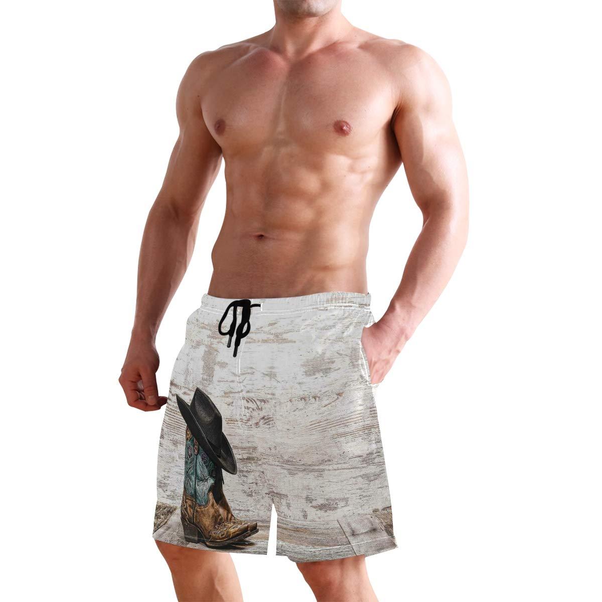 KVMV Traditional Polka Dot Pattern European Spotty Retro Design Quick Dry Beach Shorts