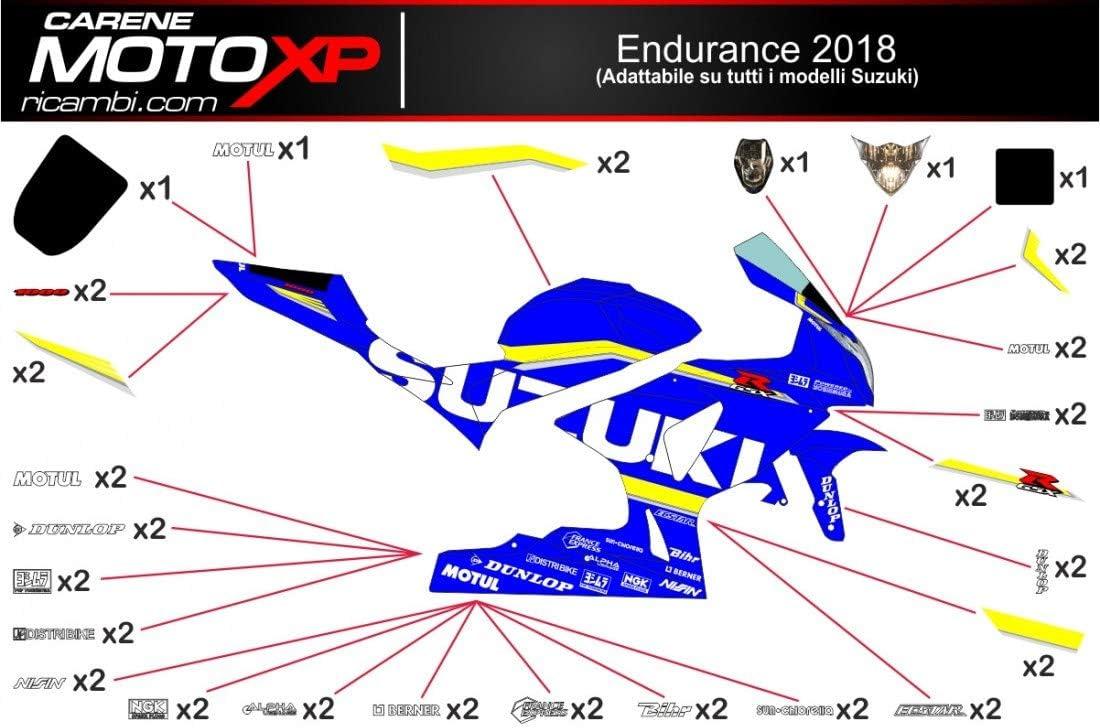 Pegatinas Adhesivos Motos Racing Suzuki Gsxr 1000 2019 2018 2017 ...