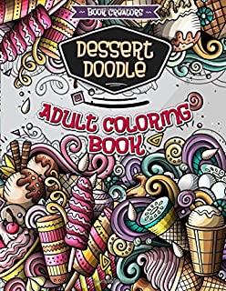 Amazon com: Doodle Art: Adult Coloring Book with many different