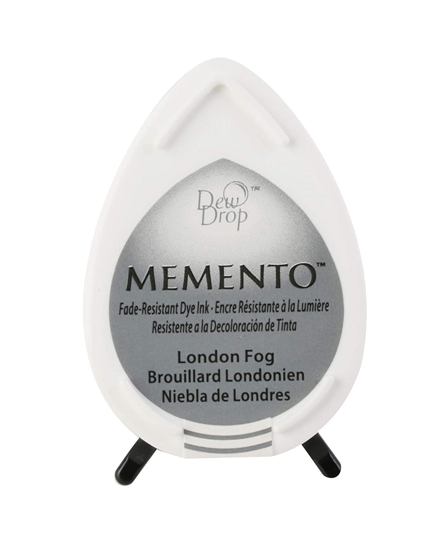 Memento Dew Drop Ink Pads Tsukineko Dew Drop Pad London Fog