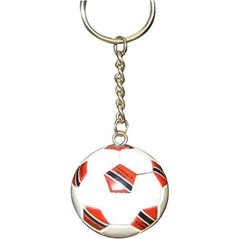 FNG Football Soccer Ball KeyChains KeyRings Trinidad de balón de ...