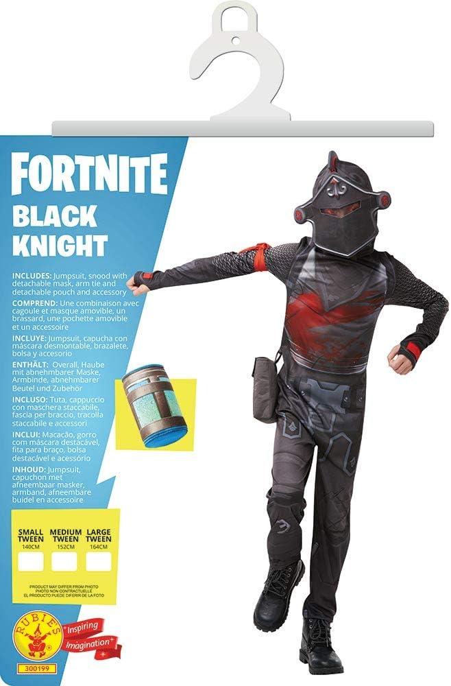 Fortnite - Disfraz Black Knight para niño, 9-10 años (Rubies ...