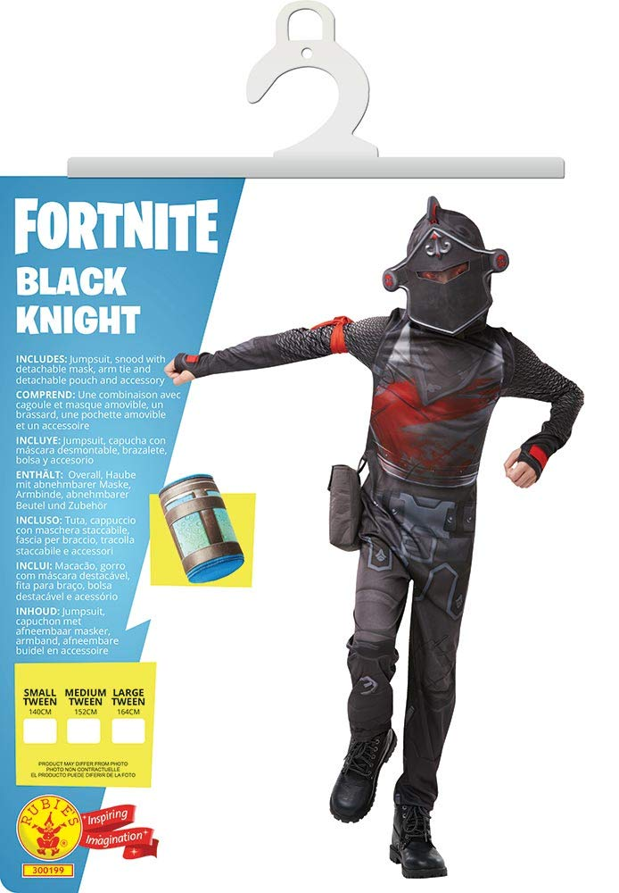Fortnite - Disfraz Black Knight para niño, 13-14 años (Rubies ...