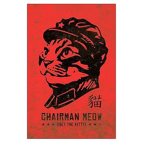 Amazon.com: CafePress – Presidente Meow – Grande Cat ...