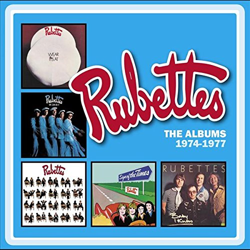 Rubettes - Albums 1974-1977 [5CD Box Set] (2016) [CD FLAC] Download