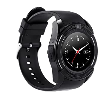 Smartwatch Reloj Inteligente Resistente a Agua Bluetooth: Amazon ...