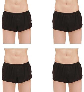 79d31e8519c5 Kseey 4-Pack Men's Ice silk fashion Ultra-thin Boxer Briefs Underwear Trunk  Black