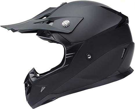 Amazon.es: Casco Motocross Eduro ECE Homologado - YEMA YM-915 ...