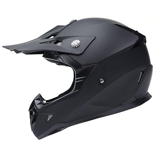 YEMA Casco Motocross Eduro ECE Homologado YM-915 Casco de Moto Cross Integral para Mujer
