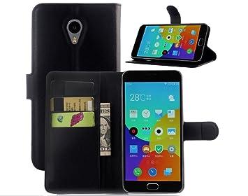 Apanphy Funda Meizu M2 Note, Tapa de Cuero de La PU Case de la Cartera con Ranuras para Tarjetas Incorporadas Flip Cover para Meizu M2 Note Smartphone ...