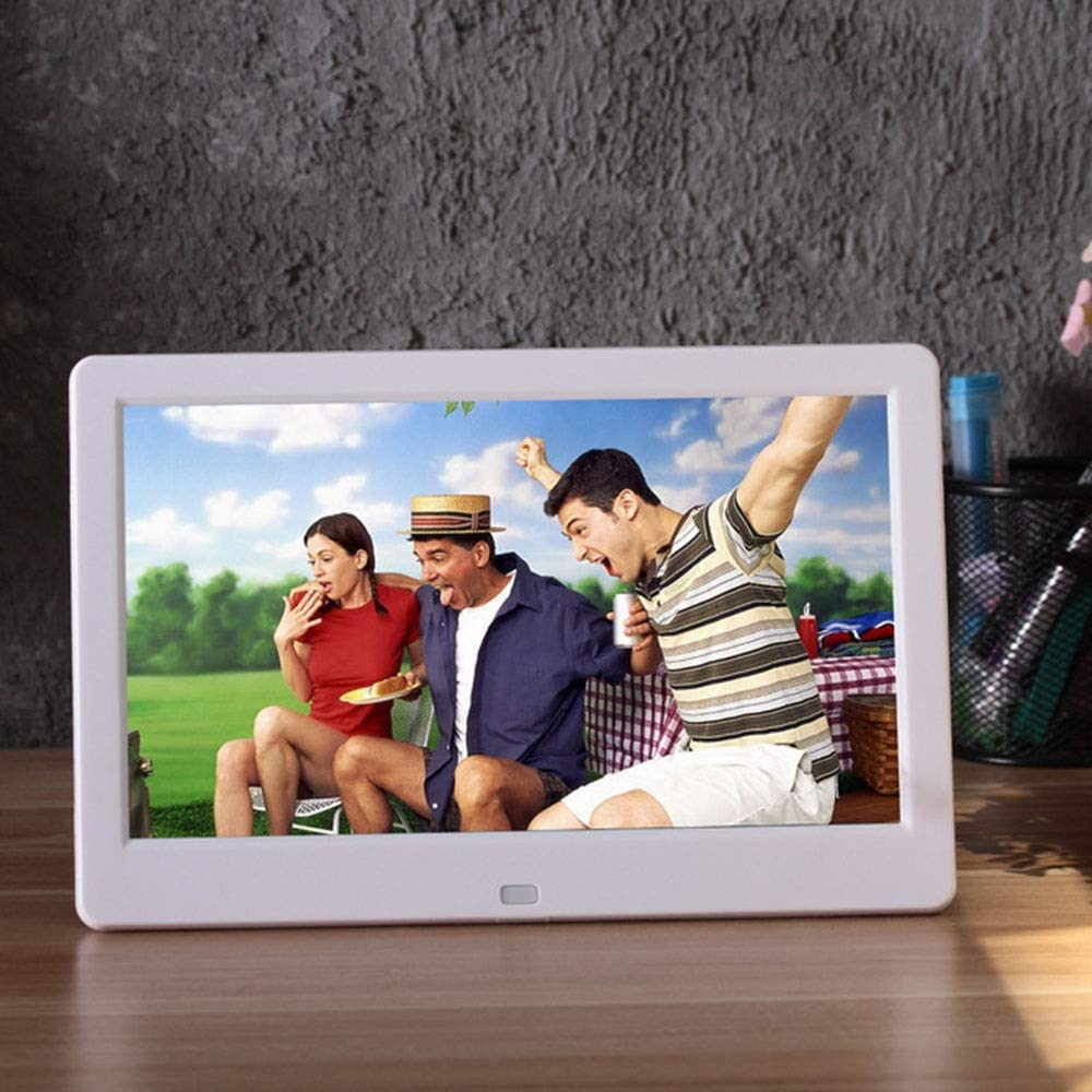 WUSHIYU Digital Frame 10.1 Inch Digital Picture Frame 1280600 Pixels High Resolution Smart Electronic Frame Auto On//Off Timer Remote Control Included Electronic Digital Photo Frame