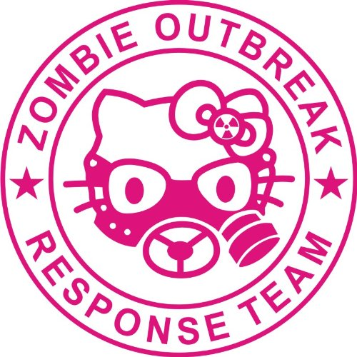 4d33890a3 Hello Kitty Zombie Outbreak Response Team, Kitty With Gas Mask Middle (5