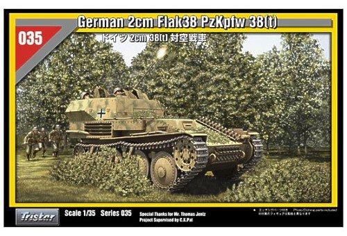 0035035 1/35 German 2cm Flak 38 PzKpfw 38(t)