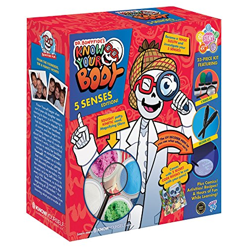Dr. Bonyfide's Know Your Body: 5 Senses Edition