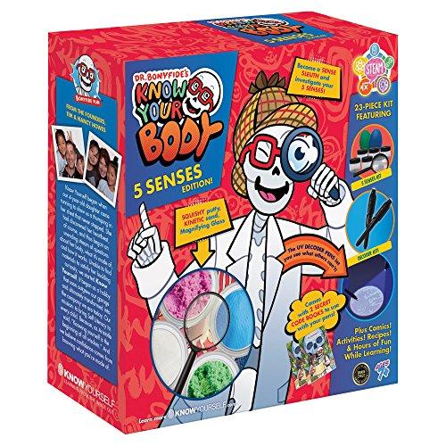 Dr. Bonyfide's Know Your Body: 5 Senses Edition