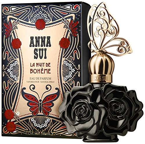 La Nuit De Boheme Black By Anna Sui For Women Eau De Parfum Spray 1.7 oz - Anna Parfum Sui