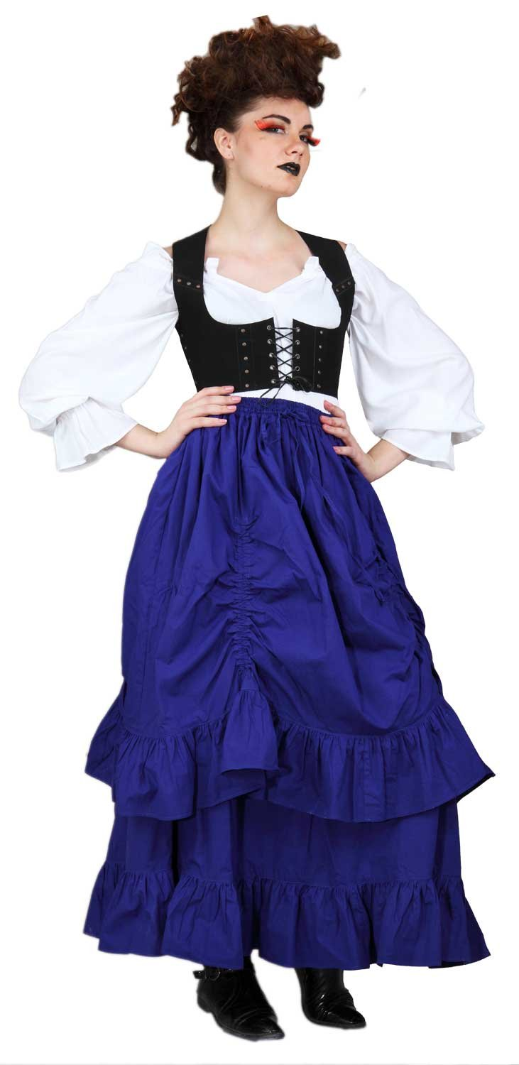 Steampunk Victorian the Downshire Skirt (x-large)