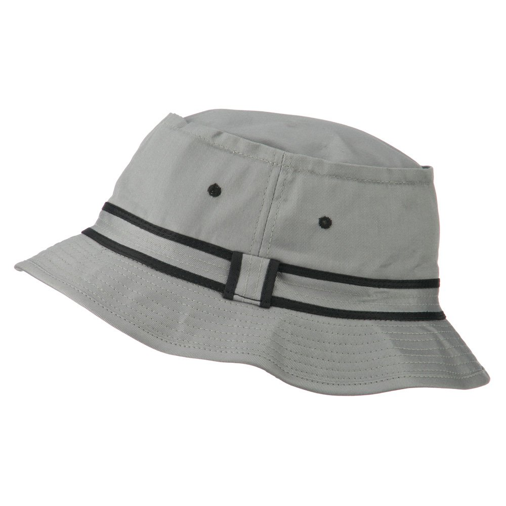 740886b810a e4Hats.com Striped Hat Band Fisherman Bucket Hat (S-M