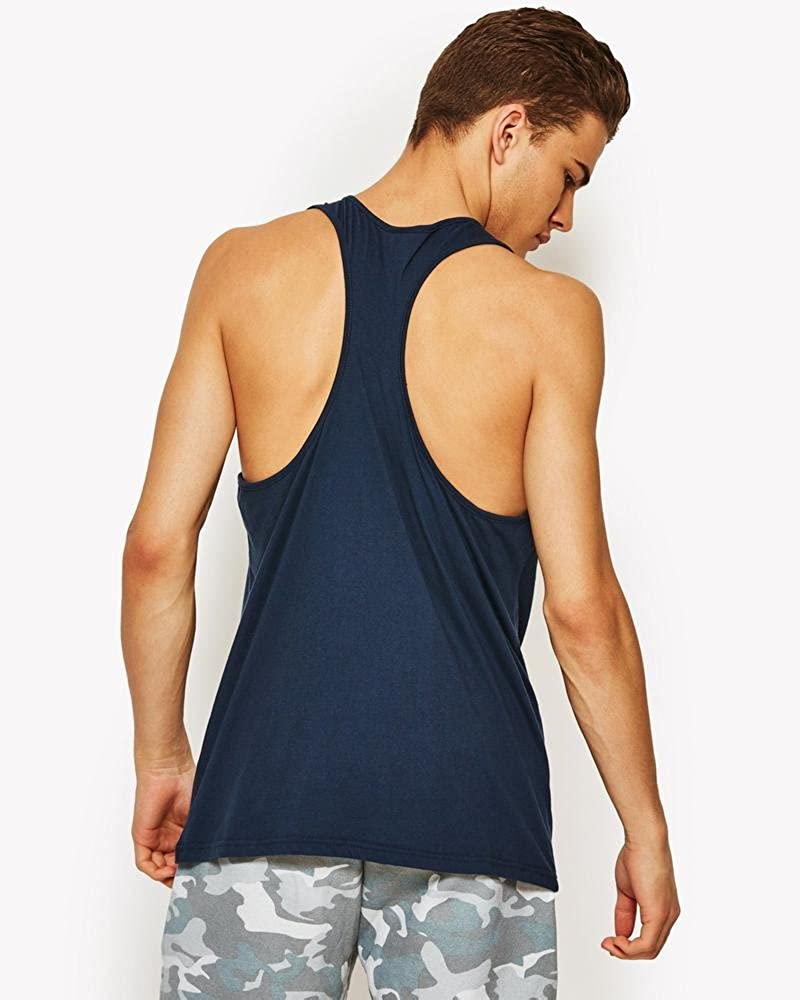 Blue Ellesse Mens Frattini Graphic Vest