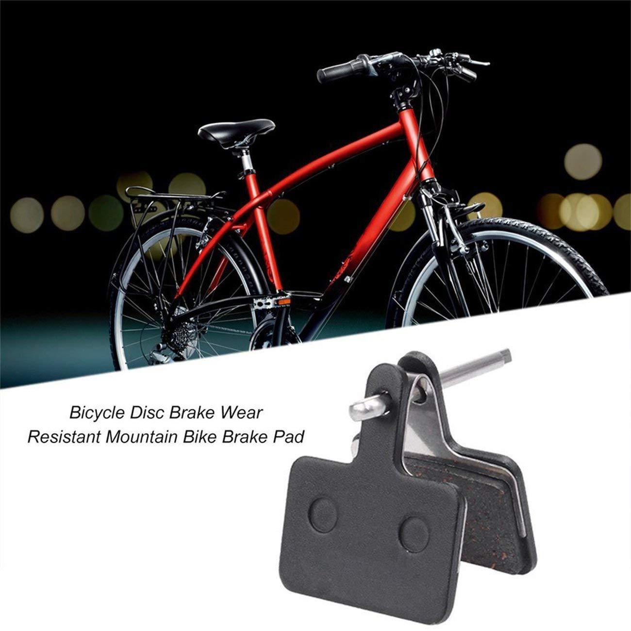 Negro Freno de Disco de Bicicleta Profesional Resistente al Desgaste de Poco Ruido Zapata de Freno de Bicicleta de monta/ña Adecuada para Shimano M355 M415