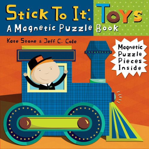 Stick to it: Toys: A Magnetic Puzzle Book