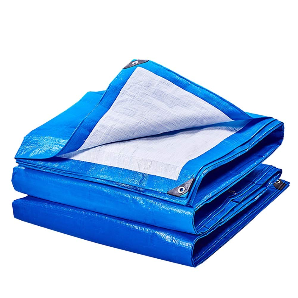 CAOYU Wasserdichte Plane UV-Schutz Wasserdichte Plane Regen Tuch Zelt
