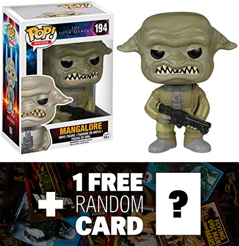 Mangalore: Funko POP! x The Fifth Element Vinyl Figure + 1 FREE Sci-fi & Horror Movies Trading Card Bundle [52232]