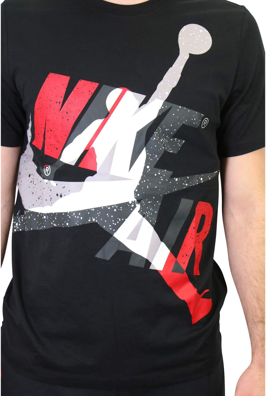 Uomo Uomo CT6751 Gym Red L Nero//Bianco//Rosso Desconocido SS CTN Jm Classics Hbr Crew Short Sleeve T-Shirt