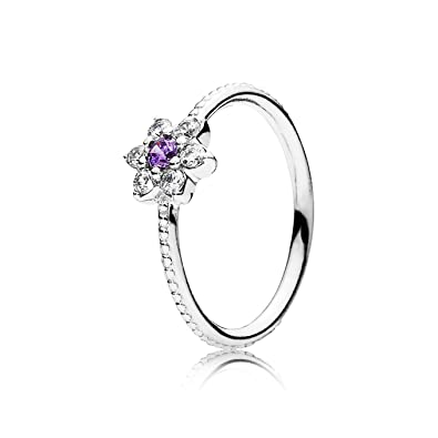 ae1e6349f Amazon.com: FORGET ME NOT, PURPLE RING-6 SM/MED: Jewelry