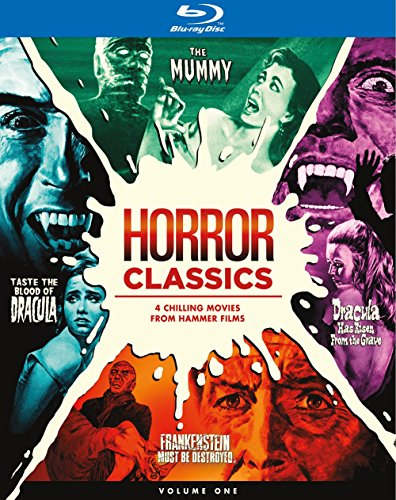 Horror Classics, Volume One Collection [Blu-ray] (Hammer Horror Blu Ray Collection)