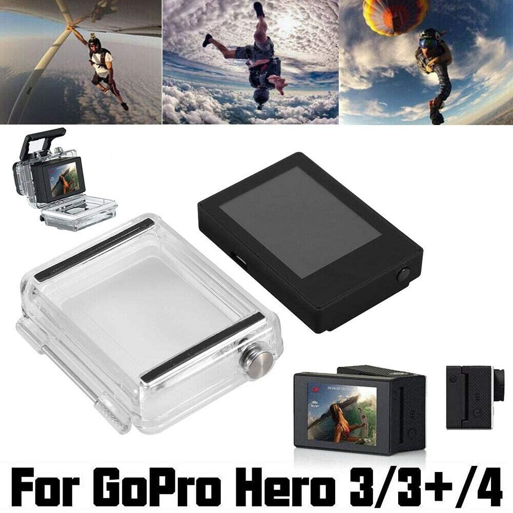 3 with Waterproof Back Cover Opteka 2-Inch LCD Motion Camera Bacpac Non-Touch Display for Gopro Hero 4 3