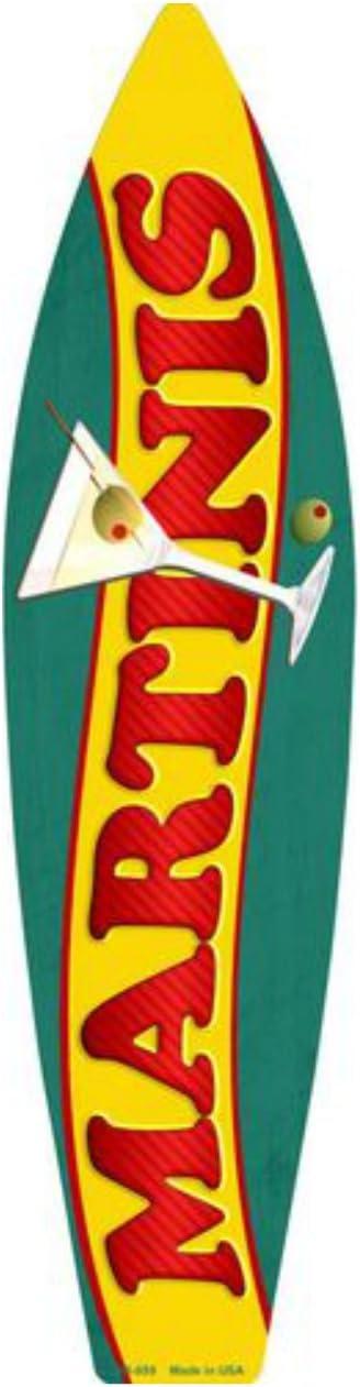 """Tiki Bar Mask Mini Novelty Beach Surf Board Sign 17/"""" x 4.5/"""""""