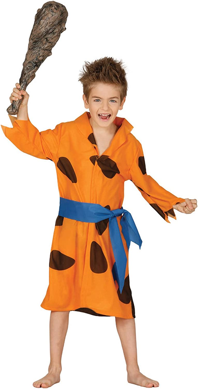 Guirca - Disfraz de Picapiedra, para niños de 5-6 años, color ...