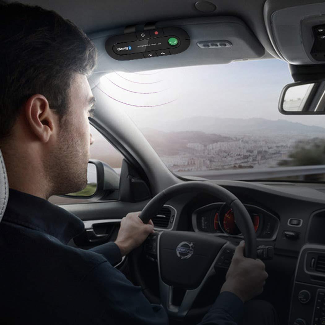 MP3 Music Player Sun Visor Wireless Bluetooth Handsfree Car Kit Audio Receiver