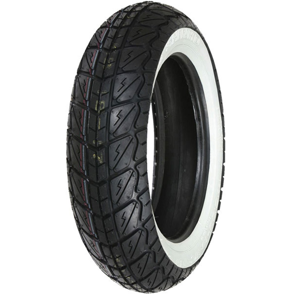 Amazon.com: Shinko SR723 Neumático trasero de pared blanco ...