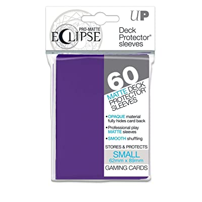 Ultra Pro 85832 Eclipse Small Pro Matte (60 Pack), Royal Purple: Toys & Games