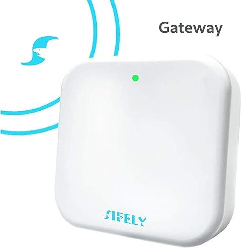 Sifely Keyless Entry Electronic Smart Door Lock Wi-Fi Gateway Wi-Fi Bridge