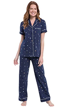 b8e2e4f0e8 PajamaGram Pajama Sets Women Soft - Cotton Jersey Pajamas Womens ...