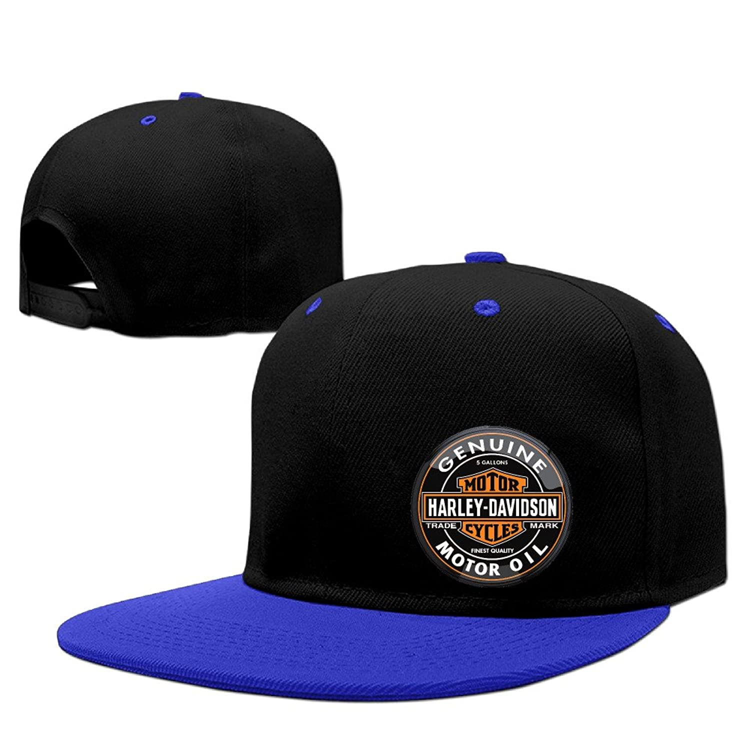 MYDT1 Unisex Harley Davidson Logo Adjustable Hip Hop Baseball Caps Hats