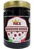 REX Gourmet Cocktail Italian Maraschino Cherries, 14.1 Ounce