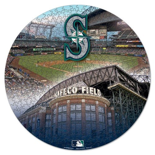 WinCraft MLB Seattle Mariners Puzzle in Box (500 Piece)