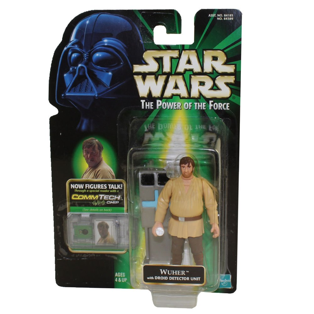 Star Wars Power of the Force Fan Club Exclusive Wuher Action Figure By Hasbro