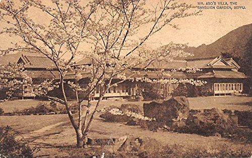 (Mr Aso's Villa, The Sansuien Garden Beppu Japan Postcard)