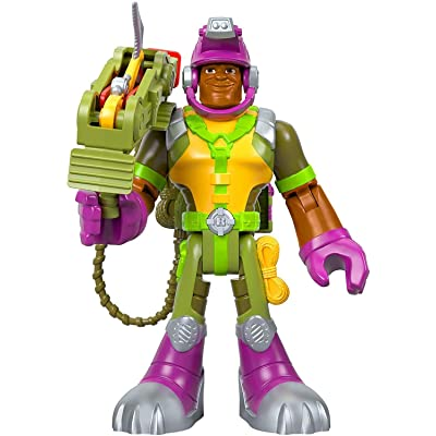 Fisher-Price Rescue Heroes Rocky Canyon, 6-Inch Figure with Accessories: Toys & Games