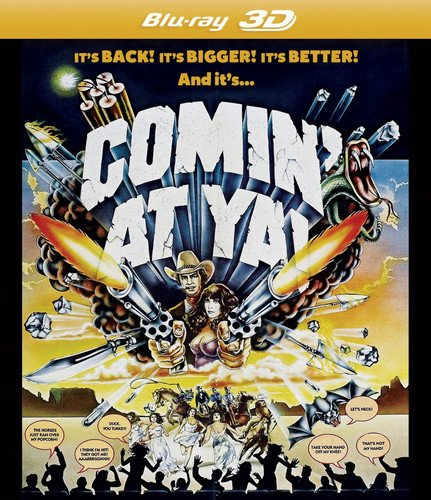Blu-ray : Comin' at Ya! In 3D (Blu-ray)