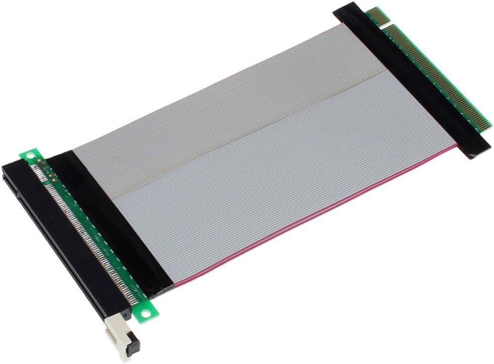 PCI-Express PCI-E 16X Riser Card Flex Flexible Ribbon Extender Extension Cable