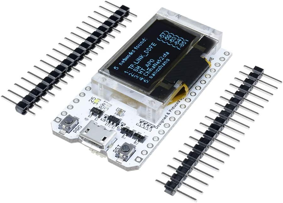 ESP32 0.96 Inch Blue OLED Digital Display Bluetooth WIFI Kit 32 Module CP2102 Internet Development Board For Arduino Carvicto